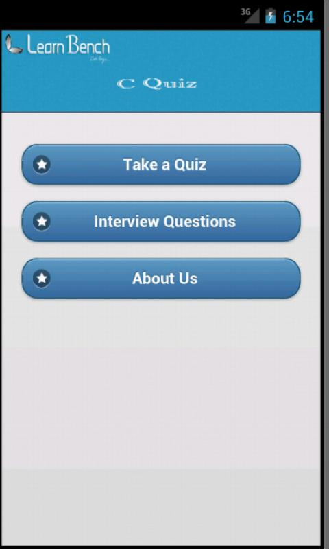 C Quiz- screenshot
