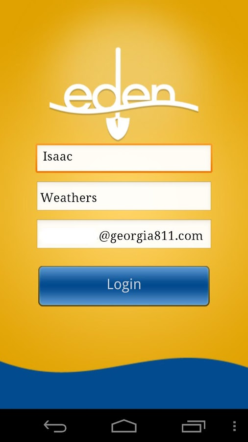 Georgia 811 Mobile App - screenshot
