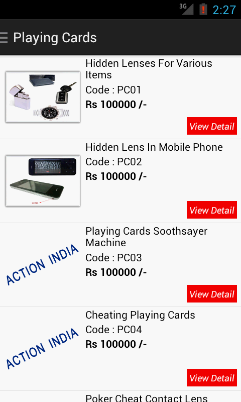 Action India Spy Camera Delhi- screenshot