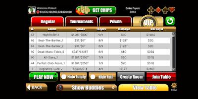 Screenshot of Poker Mob