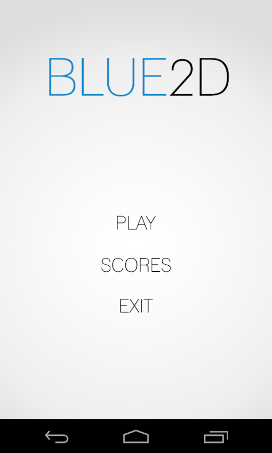 Blue2D- screenshot