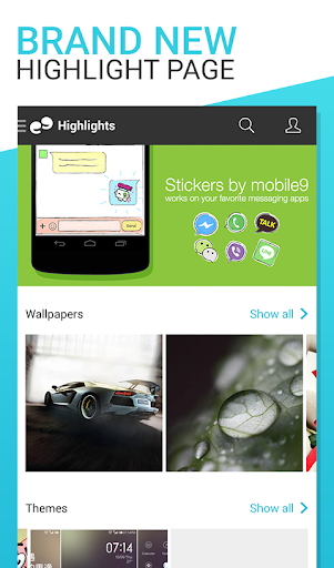 mobile9 DECO APK 2.2.9 - Free Personalization App for Android ...