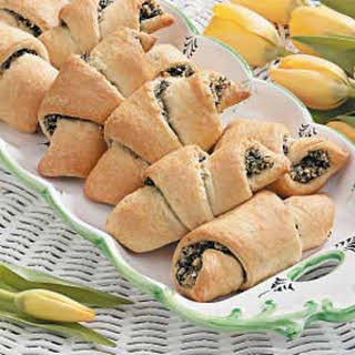 Spinach Crescents.