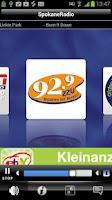 Screenshot of Spokane Radio