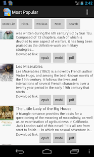 Tap2Speak (Ebook) Reader- screenshot thumbnail