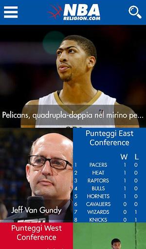 NBA Religion