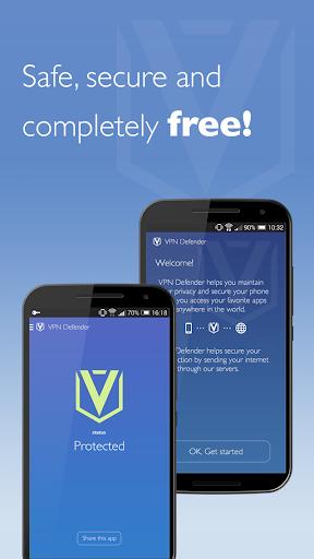 Free Unlimited VPN Defender