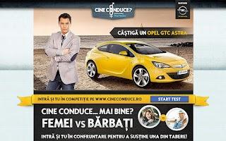Screenshot of Cine Conduce?