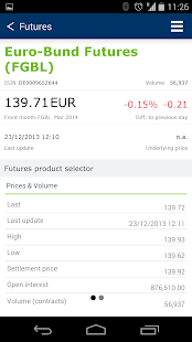 Eurex Mobile App- screenshot thumbnail