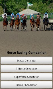 Horse Racing Companion- screenshot thumbnail