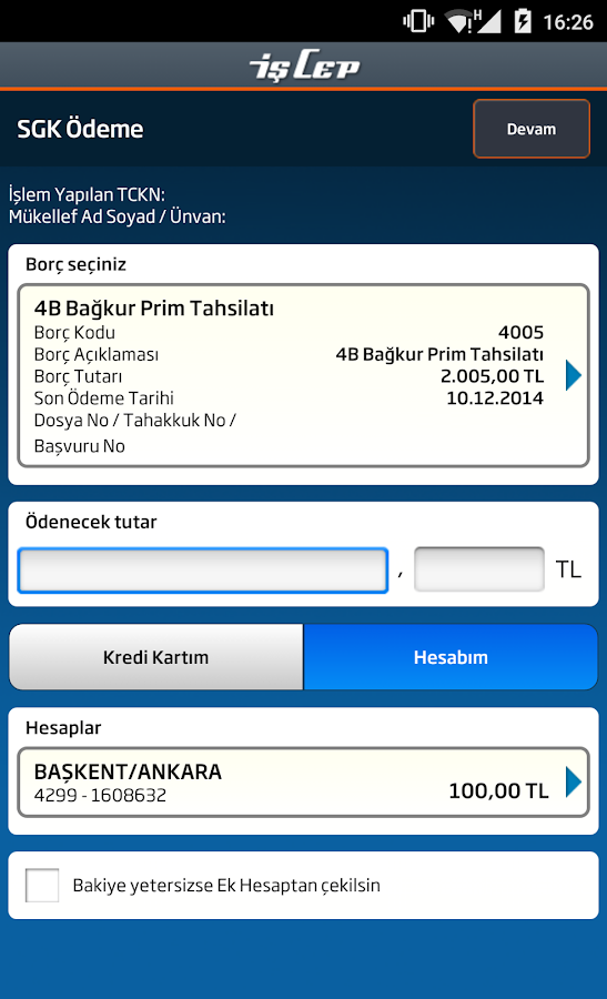 İşCep - screenshot
