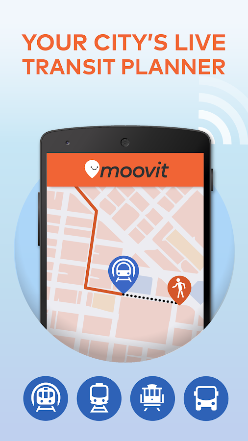 Moovit: Next Bus & Train Info - screenshot