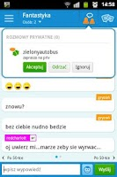 Screenshot of CZATeria - czat, chat online