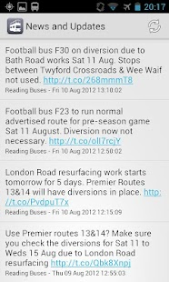 My Bus Reading - screenshot thumbnail