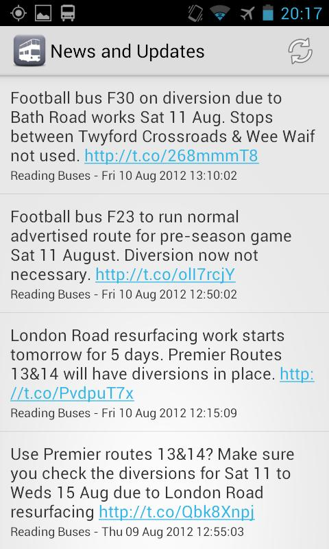 My Bus Reading- screenshot