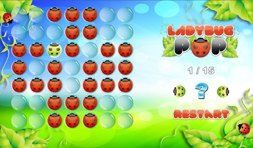 【免費解謎App】LadyBugPOP Brain Game FUN!-APP點子