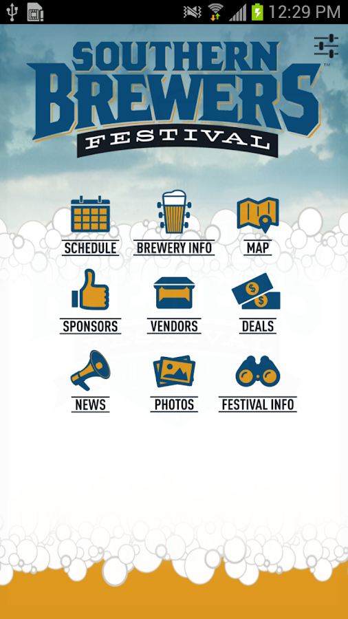 Southern Brewers Festival - screenshot