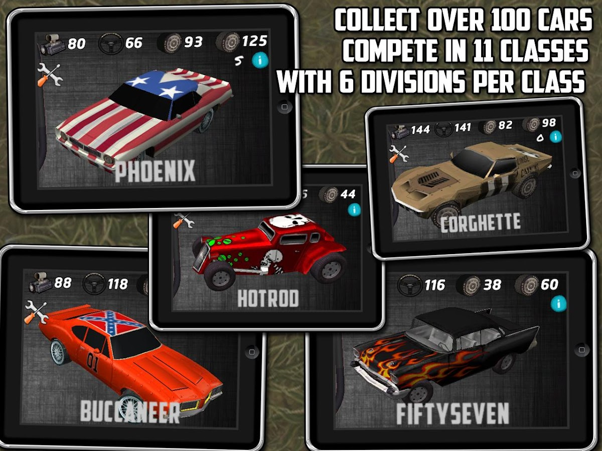 Muscle car: multiplayer racing- screenshot