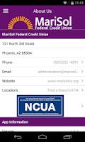 Screenshot of MariSol FCU