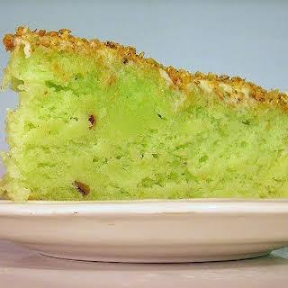 Pistachio Cake.