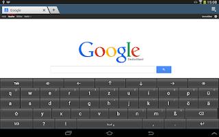 Screenshot of Deutsche Tastatur