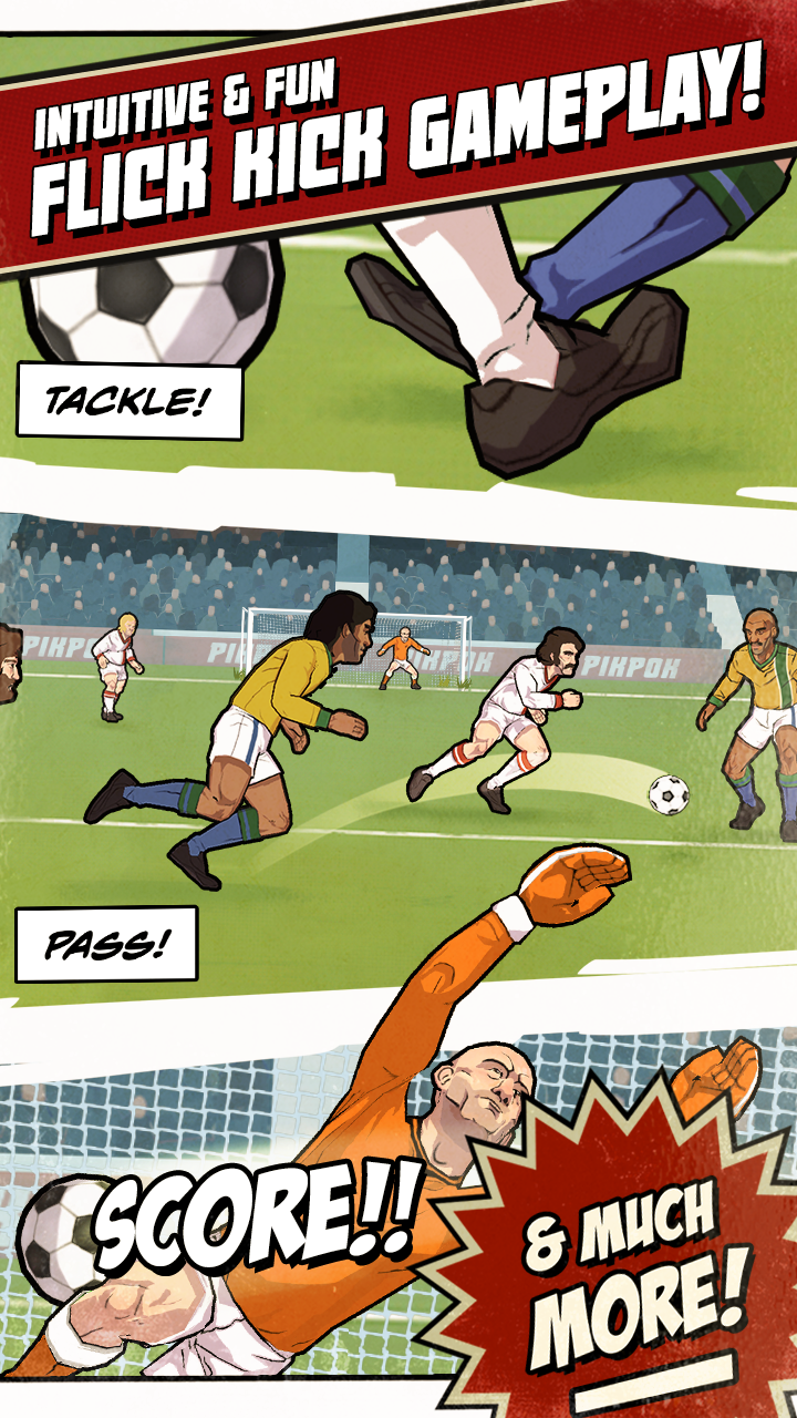 Flick Kick Football Legends screenshot #2