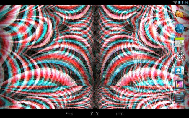 Crazy Trippy Live Wallpaper - screenshot