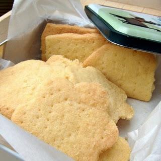 Butter Shortbread Cookies