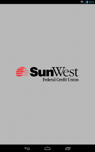 SunWest FCU Mobile  - Tablet- screenshot thumbnail