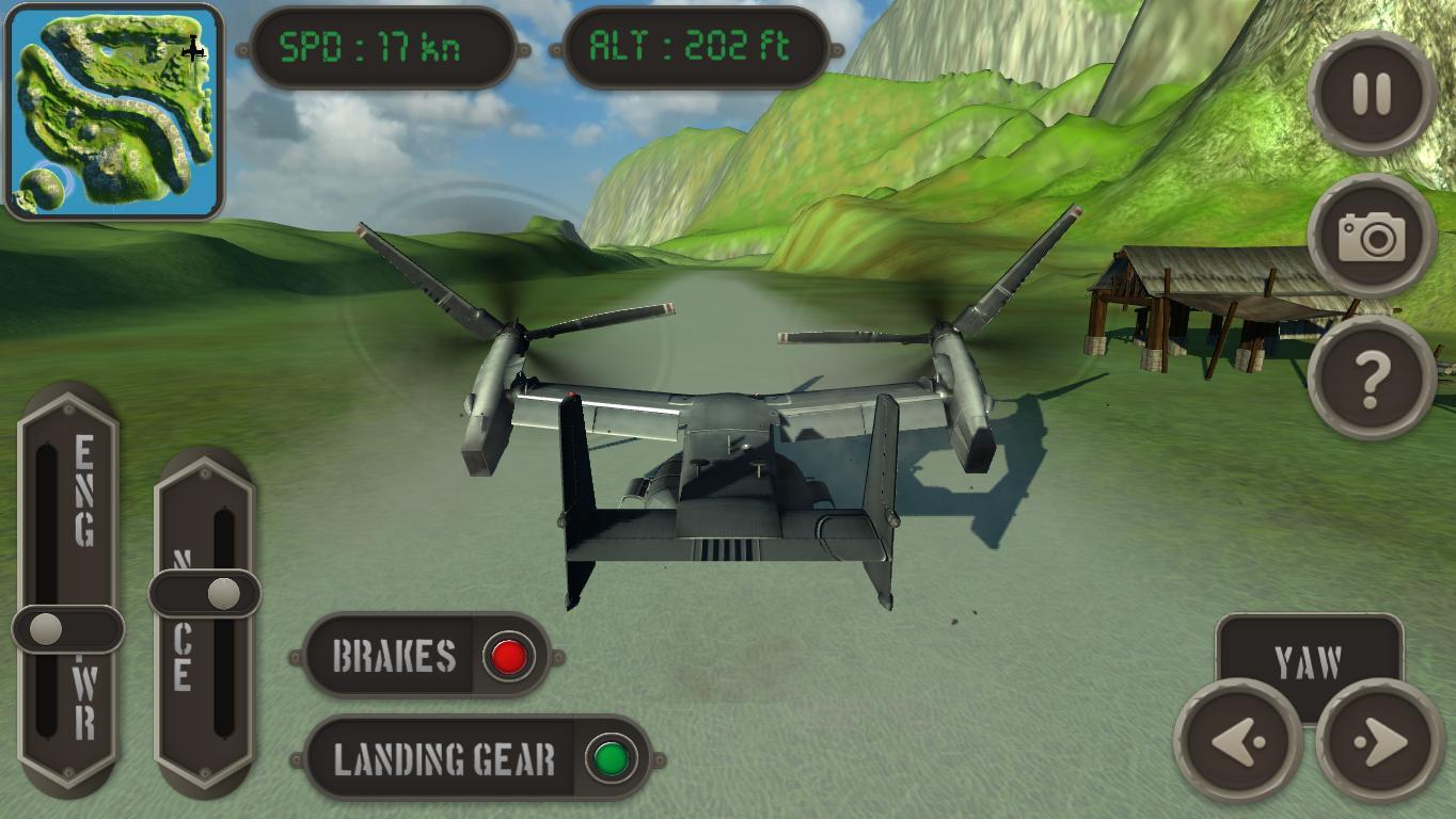 V22 Osprey Flight Simulator - screenshot