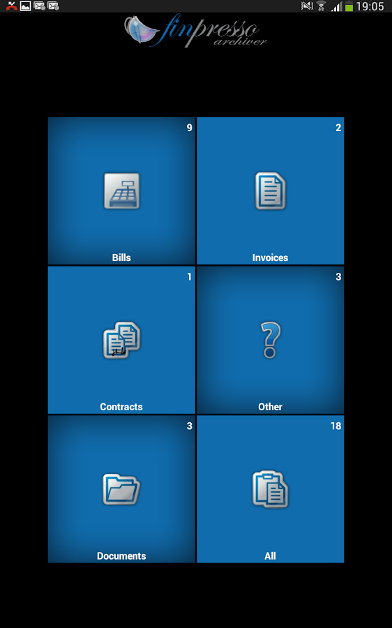 Finpresso Archiver- screenshot