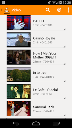 VLC for Android beta 0.9.10 screenshot 981