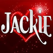 Jackie diamond Sticker