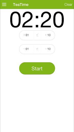 TeaTime - a simple timer