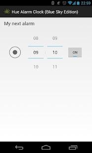Hue Alarm Clock (Blue Sky Ed.) - screenshot thumbnail