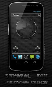 Glass clock. widget. BOX. PRO v9