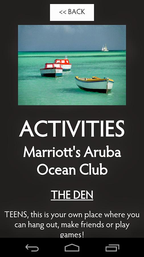 purpose and activities of marriott