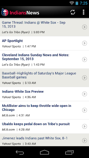 Cleveland Baseball News for PC