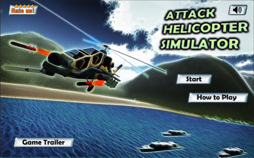 Attack Helicopter Simulator 3D