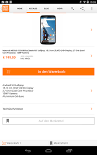 notebooksbilliger.de App - screenshot thumbnail