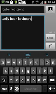 Jelly Bean 4.2 Keyboard Full- screenshot thumbnail