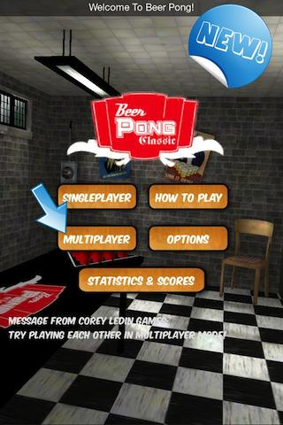 Beer Pong (Gen 1) - screenshot