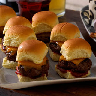 Amazing Cheddar Sliders