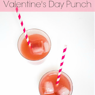 Classic Valentine's Day Punch (Non-Alcoholic Version).