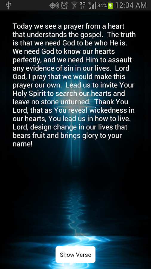 Verse-A-Day Bible Verses- screenshot