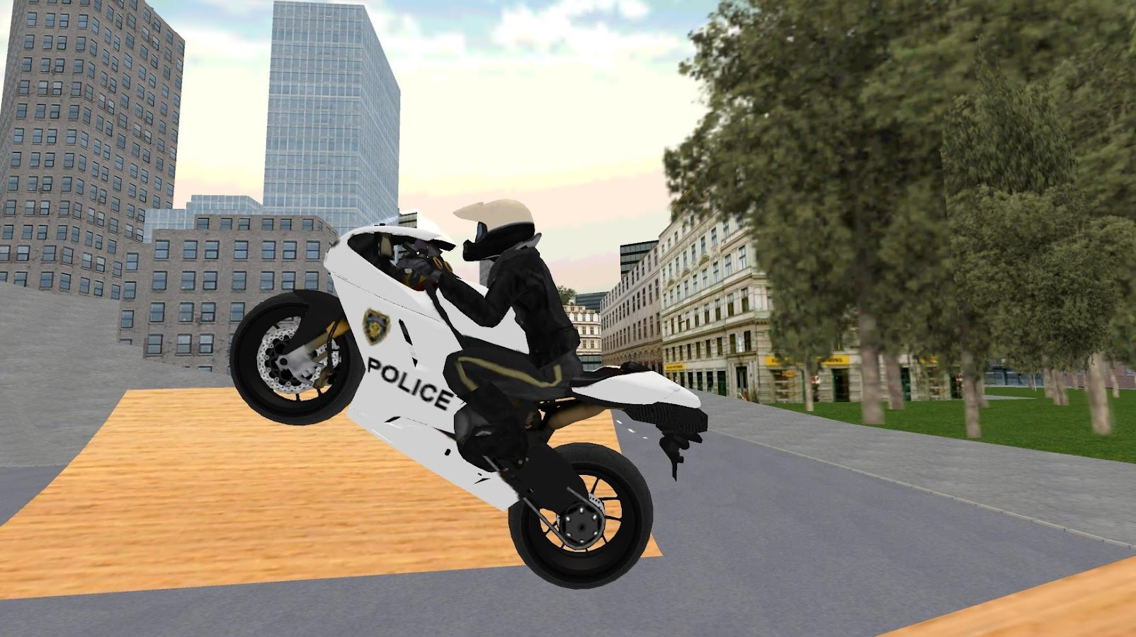 Police Motorbike Simulator 3D- screenshot