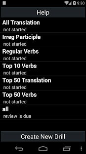 Italian Verb Trainer- screenshot thumbnail