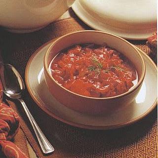 Beet, Cabbage & Mushroom Borscht
