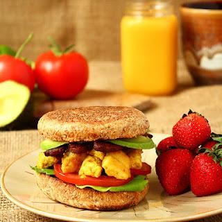 Easy $3 Vegan Breakfast Sandwich.