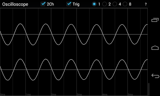 Oscilloscope- screenshot thumbnail
